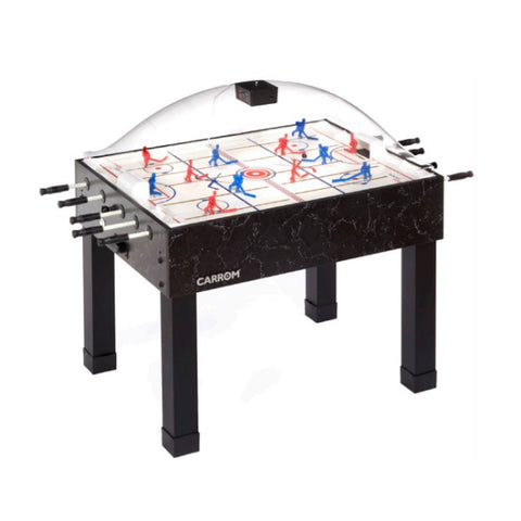 Carrom Super Stick Hockey Table - Black - The Rec Room Game Company