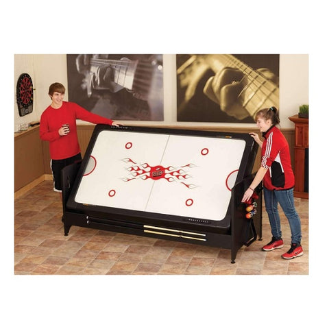 Fat Cat Original Pockey Table - Flip from Air Hockey to Pool - The Rec Room Game Company