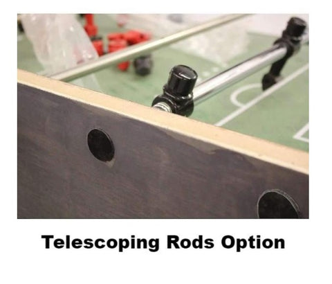 Telescoping Rods Option
