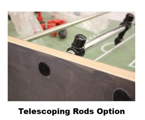 Telescoping Rods - Performance Games Foosball Table