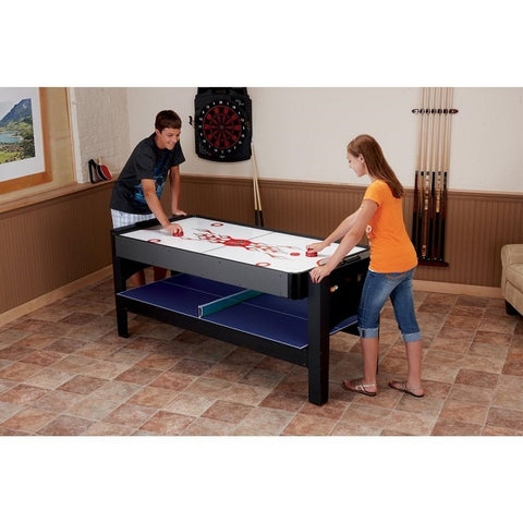 Fat Cat 3-in-1 Flip Game Table - Air Hockey - The Rec Room Game Company