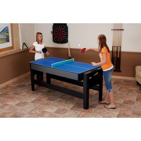 Fat Cat 3-in-1 Flip Game Table - Table Tennis - The Rec Room Game Company