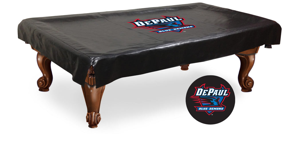 DePaul University Billiard Table Cover