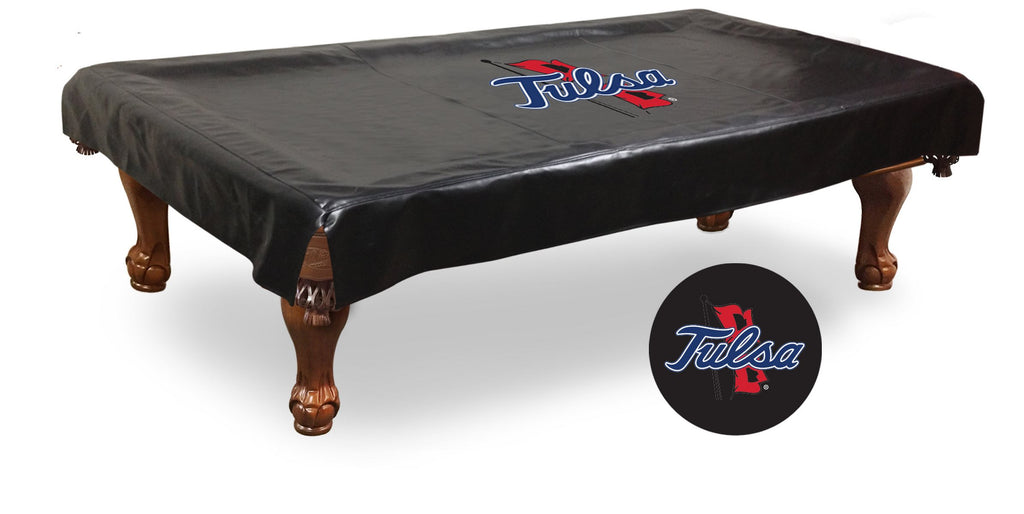 University of Tulsa Billiard Table Cover