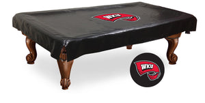 Western Kentucky University Billiard Table Cover