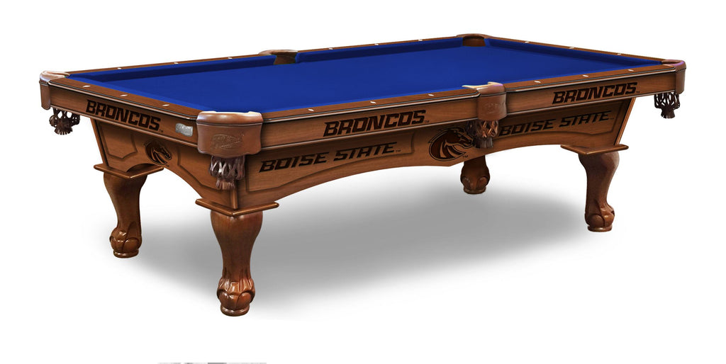 Boise State University Billiards Table - The Rec Room Game Company