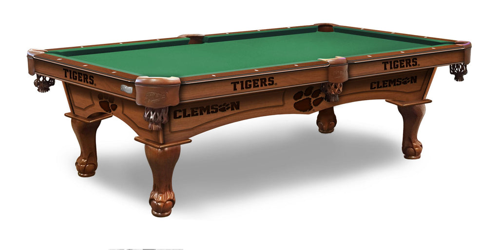 Clemson University Billiards Table - The Rec Room Game Company
