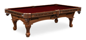 Colorado Avalanche Billiards Table - The Rec Room Game Company