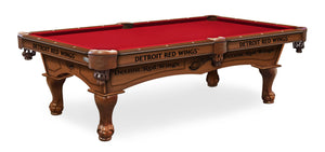 Detroit Red Wings Billiards Table - The Rec Room Game Company