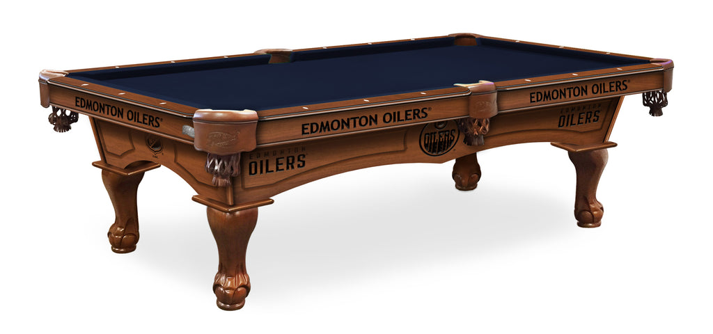 Edmonton Oilers Billiards Table - The Rec Room Game Company