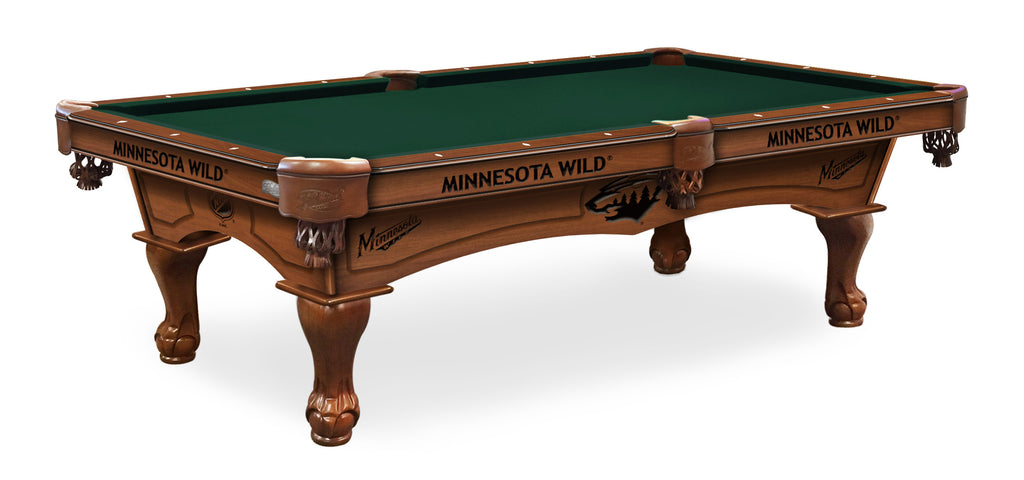 Minnesota Wild Billiards Table - The Rec Room Game Company