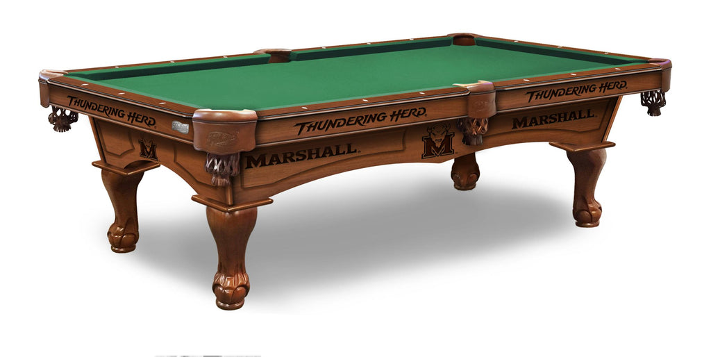 Marshall University Billiards Table - The Rec Room Game Company