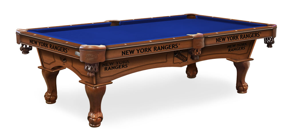 New York Rangers Billiards Table - The Rec Room Game Company