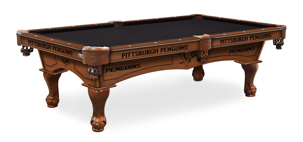 Pittsburgh Penguins Billiards Table - The Rec Room Game Company