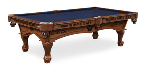 Toronto Maple Leafs Billiards Table - The Rec Room Game Company