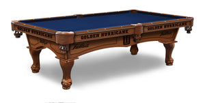 University of Tulsa Billiards Table - The Rec Room Game Company