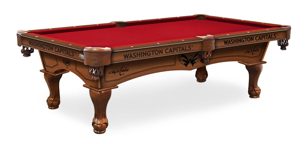 Washington Capitals Billiards Table - The Rec Room Game Company