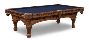 Xavier University Billiards Table - The Rec Room Game Company