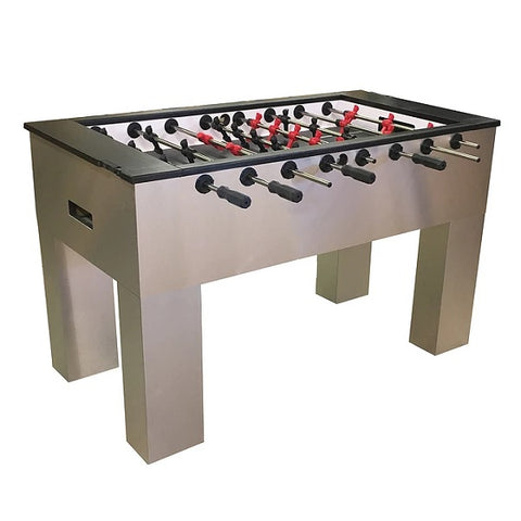 Image of Performance Games Sure Shot IS Foosball Table With Satin Flush Legs - The Rec Room Game Company