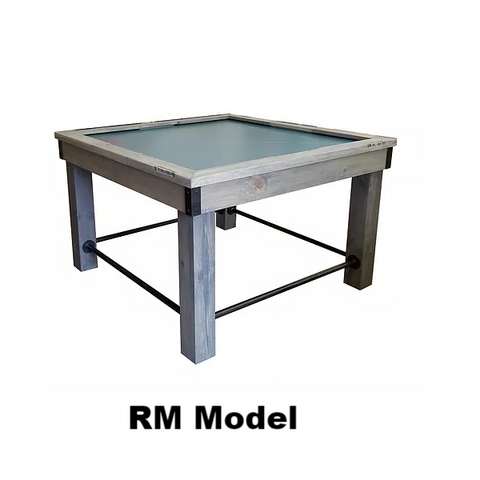 Image of Tradewind 234 Air Hockey Table - Grey - RM Model with Pub Table Legs