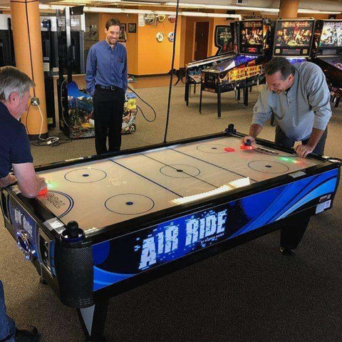 Image of Barron Games Air Ride 2-Player Air Hockey Table-Barron Games-The Rec Room Game Company