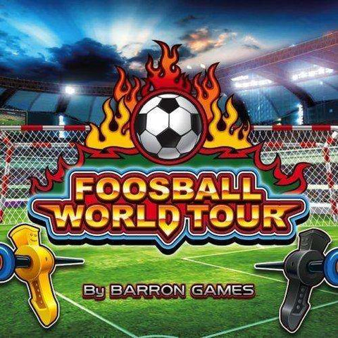 Image of Barron Games World Tour Foosball Table (Coin-Op)-Barron Games-The Rec Room Game Company