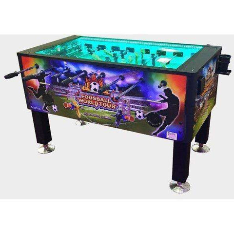 Barron Games World Tour Foosball Table (Coin-Op)-Barron Games-Air Hockey Table Zone