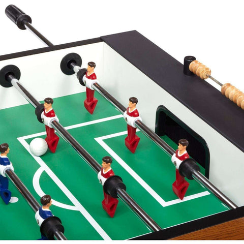 Carrom Burr Oak Foosball Soccer Table-Carrom-Air Hockey Table Zone