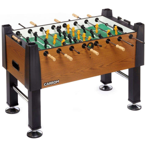 Carrom Signature Foosball - Burr Oak, Partially Assembled-Carrom-Air Hockey Table Zone