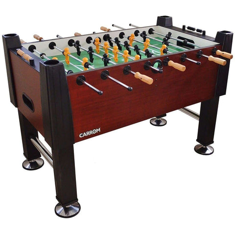 Carrom Signature Foosball Soccer Table - Wild Cherry-Carrom-Air Hockey Table Zone