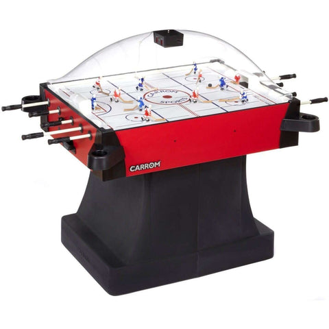 Carrom Signature Stick Hockey w/pedestal Red-Carrom-The Rec Room Game Company
