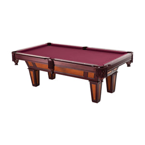 Complete Package - Fat Cat 7' Reno II Billiard Table with Accessories, Cue Rack, and Dust Cover