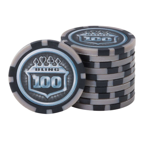 Fat Cat Bling 13.5 Grams 500 Ct Poker Chip Set-Fat Cat-Air Hockey Table Zone