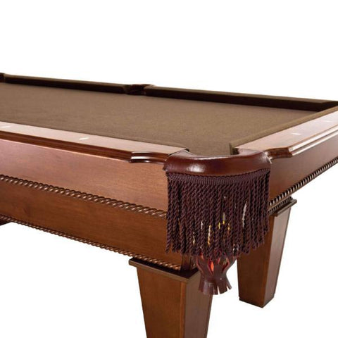 Image of Fat Cat Frisco Billiard Table - close up view - The Rec Room Game Company