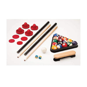 Fat Cat Original Pockey 2-In-1 Game Table - Billiards and Air Hockey