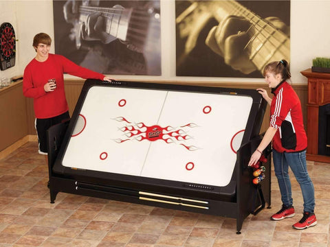 Fat Cat Pockey 3 In 1 Game Table Pool, Air Hockey, and Table Tennis-Fat Cat-Air Hockey Table Zone