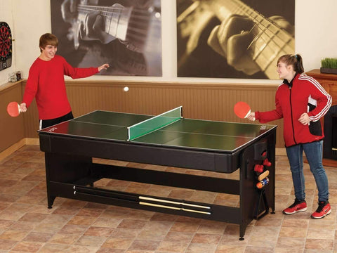 Image of Fat Cat Pockey 3 In 1 Game Table Pool, Air Hockey, and Table Tennis-Fat Cat-The Rec Room Game Company