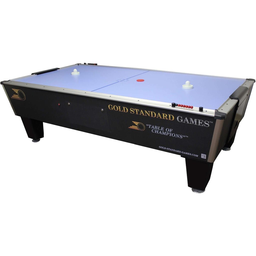 Gold Standard Games 8' Tournament Ice 2 Player Adult Air Hockey Table-Gold Standard Games-The Rec Room Game Company