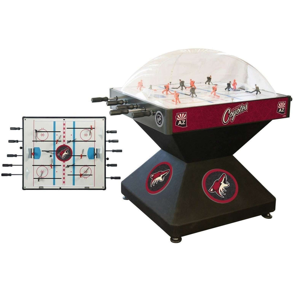 Holland Bar Stool Co Arizona Coyotes Deluxe Dome Hockey Game-Holland Bar Stool Company-The Rec Room Game Company
