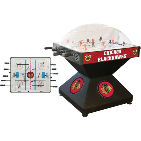 Holland Bar Stool Co Chicago Blackhawks Deluxe Dome Hockey Game-Holland Bar Stool Company-The Rec Room Game Company