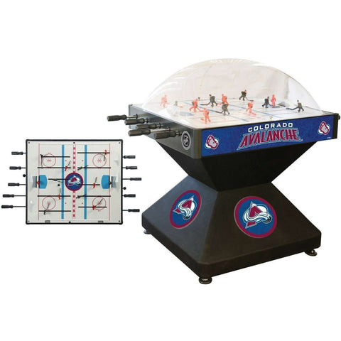 Holland Bar Stool Co Colorado Avalanche Deluxe Dome Hockey Game-Holland Bar Stool Company-Air Hockey Table Zone