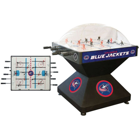 Holland Bar Stool Co Columbus Blue Jackets Deluxe Dome Hockey Game-Holland Bar Stool Company-Air Hockey Table Zone