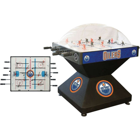 Holland Bar Stool Co Edmonton Oilers Deluxe Dome Hockey Game-Holland Bar Stool Company-The Rec Room Game Company