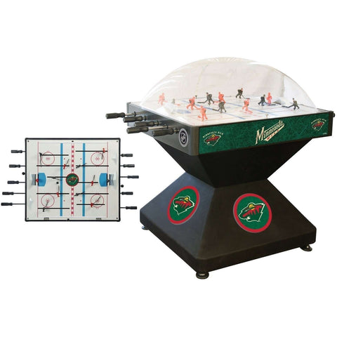 Holland Bar Stool Co Minnesota Wild Deluxe Dome Hockey Game-Holland Bar Stool Company-Air Hockey Table Zone