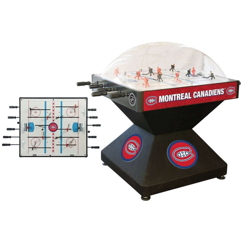 Holland Bar Stool Co Montreal Canadiens Deluxe Dome Hockey Game-Holland Bar Stool Company-The Rec Room Game Company