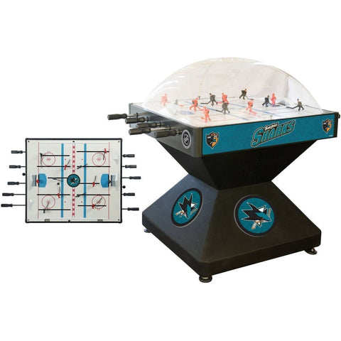 Holland Bar Stool Co San Jose Sharks Deluxe Dome Hockey Game-Holland Bar Stool Company-The Rec Room Game Company