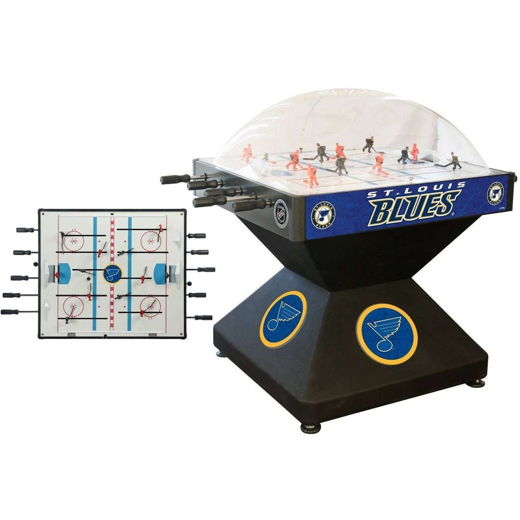 Holland Bar Stool Co St Louis Blues Deluxe Dome Hockey Game-Holland Bar Stool Company-The Rec Room Game Company