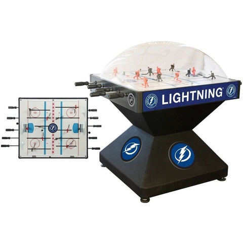 Holland Bar Stool Co Tampa Bay Lightning Deluxe Dome Hockey Game-Holland Bar Stool Company-Air Hockey Table Zone