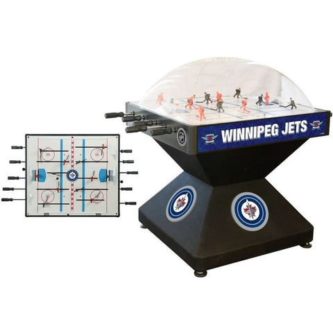 Holland Bar Stool Co Winnipeg Jets Deluxe Dome Hockey Game-Holland Bar Stool Company-Air Hockey Table Zone
