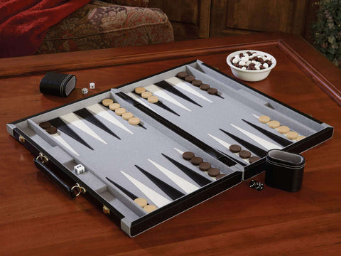 "Mainstreet Classics 22.5"" Backgammon Set 55-0709-Mainstreet Classics-The Rec Room Game Company"